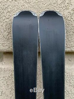 Atomic Affinity Sky women's 154 cm all-mountain skis with Atomic bindings