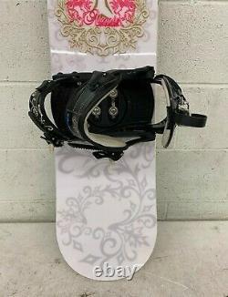 Atomic Tika 149cm Twin-Tip All-Mountian Women's Snowboard withK2 Debut Bindings