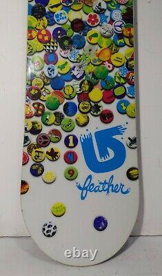 BURTON Feather Women's 149cm Snowboard Limited Edition All Mountain