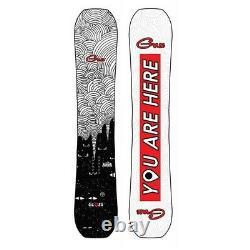 Brand New Womens 2021 GNU Gloss 144cm Snowboard