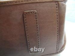 Brighton Ferrara Purse/shoulder Bagbrownall Leatherused 2 Timesnear Mint