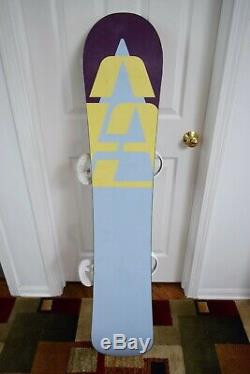 Burton 13 Face Snowboard Size 148 CM With Burton Medium Binding