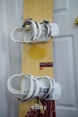 Burton Charger Snowboard Size 142 CM With Burton Medium Binding