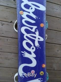 Burton FEATHER snowboard womens 140 cm Snow board Burton Bindings