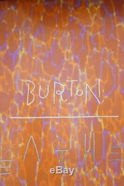Burton Feather 44 Snowboard Size 144 CM With Burton Medium Binding