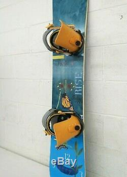 Burton Feelgood 149cm Twin-Tip All-Mountain Wmn's Snowboard Salomon SP3 Bindings