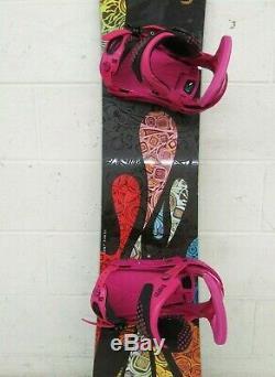 Burton Feelgood 149cm Twin-Tip All-Mountain Women's Snowboard withLEXA Bindings