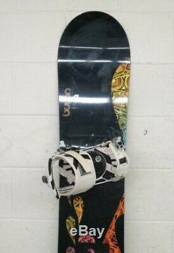 Burton Feelgood 152cm Twin-Tip All-mountain Snowboard withRIDE Sigma Bindings Med