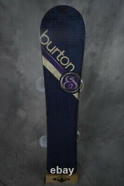 Burton Feelgood Es Womens Snowboard 145cm With Medium Burton Bindings