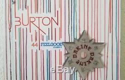 Burton Feelgood Flying V 144 All-Mountain Hannah Teter $550 MSRP