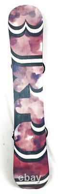 Burton Feelgood Womens Black/Red Size 152cm All-Mountain Camber Snowboard