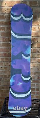 Burton Freestlyle snowboard with bindings. 140cm Length X 9 Inchs