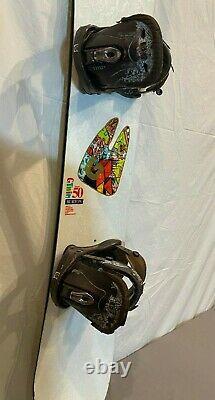 Burton G-Twin Natasza 150cm Twin-Tip Women's Snowboard withLexa Bindings Medium
