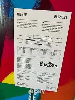 Burton Genie Snowboard Womens 138