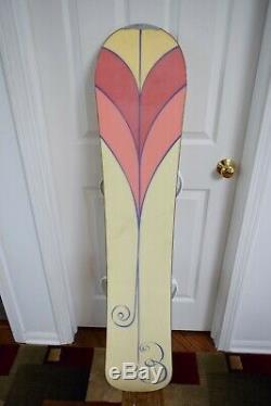 Burton Shannon Dunn Snowboard Size 144 CM With K2 Snow Medium Binding