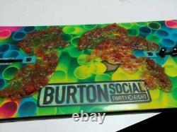 Burton Snowboard 138cm Women's Social V-Rocker Twin Oh Yeah