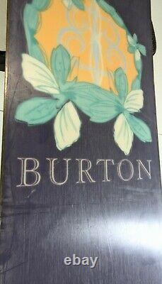 Burton Snowboard Sterling 149cm All Mountain Terrain Floral Board