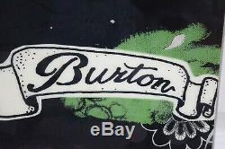Burton Stigma Snowboard Size 148 CM With Burton Medium Binding