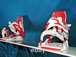 Burton TROOP women's snowboard all mountain ride 151cm with DRAKE Lady bindings