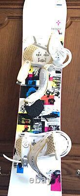 Burton Troop Snowboard Size 146 CM Medium Burton Bindings