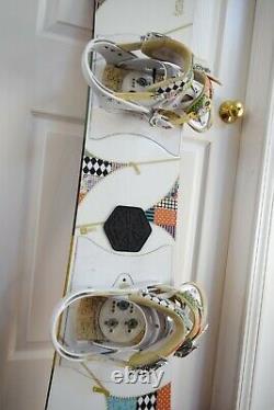 Burton Troop Snowboard Size 146 CM With Medium Lexa Bindings