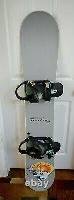 Burton Victoria's Freedom Snowboard Size 153 CM With Large Burton Bindings