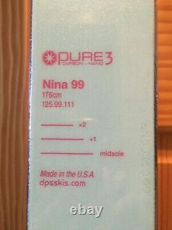 DPS Nina 99 Pure 3 Carbon Nano 176 All Mountain Ski (Women's)