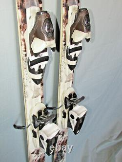 Dynastar EXCLUSIVE Legend women's skis 158cm with LOOK FLUID adjust ski bindings