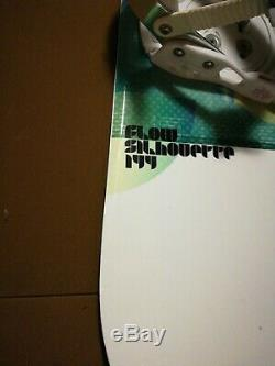 FLOW Silhouette SNOWBOARD WOMEN SIZE CM 144 MEDIUM BINDINGS Free Shipping