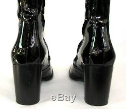 FREE LANCE Boots QUEENIE 7 all black patent leather 39 MINT
