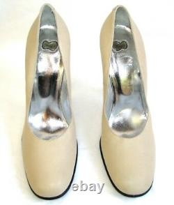 FREE LANCE Court Shoes Heels 4 5/16in all Leather Beige 40 Mint