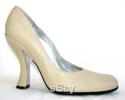 FREE LANCE Court shoes heels 11 cm all leather beige 40 MINT