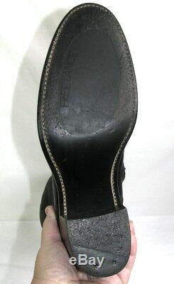 FREE LANCE Riding boots all leather black 37 MINT