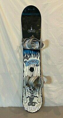 Fifty-One-Fifty 5150 Dynasty 145cm Twin-Tip Women's Snowboard withRIDE Bindings