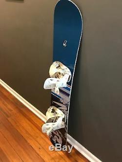 Flow Gem Snowboard 157cm + Flow Eleven Bindings Mens Womens All Mountain