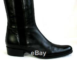 Free lance Boots Queenie Elast all Leather Veal Calfskin Black 37.5 Mint