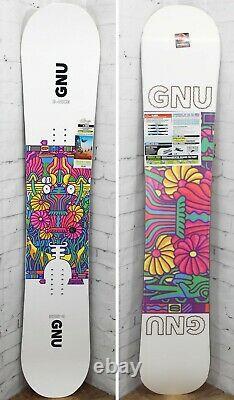 GNU B-Nice Women's Snowboard Size 145 cm, Asym Twin, New 2021