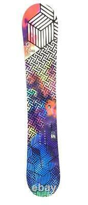 GNU Velvet Gnuru EC2 Womens Size 150cm All-Mountain Rocker Snowboard