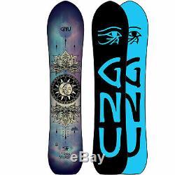Gnu Free Spirit C3 Damen-Snowboard Freestyle Freeride all Mountain 2020 New