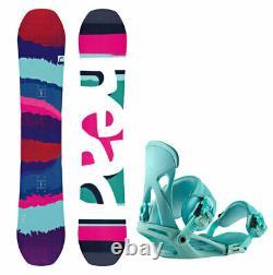 HEAD Shine 146cm Women's Snowboard with Matching NX One Bindings NEW