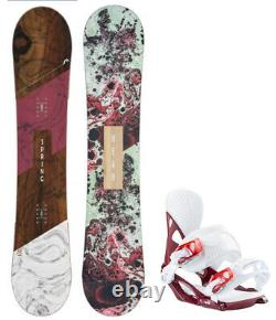 HEAD Spring Legacy 143cm Women's Snowboard+Matching Head Bindings NEW 2020