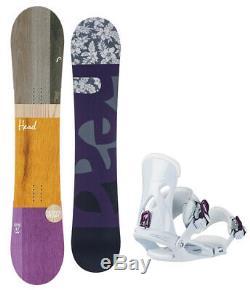 HEAD Spring Legacy 147cm Women's Snowboard+Matching Head Bindings NEW
