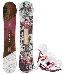 HEAD Spring Legacy 147cm Women's Snowboard+Matching Head Bindings NEW 2020
