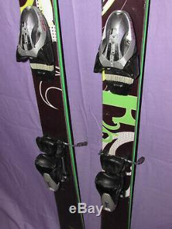 HEAD Wild One all mountain mid-fat women's skis 156cm with HEAD MoJo ski bindings