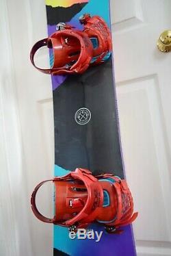 Head Shine Snowboard Size 149 CM With Ride Medium Binding