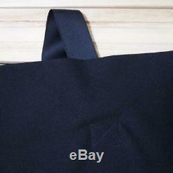 ISSEY MIYAKE 132 5. Dress asymmetrical black knee length one size fits all MINT