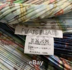 Issey miyake PLEATS PLEASE pleats shirt Paris women JPN one size fits all MINT