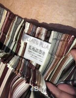 Issey miyake PLEATS PLEASE pleats skirt scarf women JPN one size fits all MINT