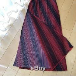 Issey miyake PLEATS PLEASE pleats skirt women JPN one size fits all MINT