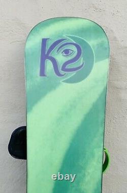 K2 147cm Womens Snowboard + Burton Custom Bindings Sm